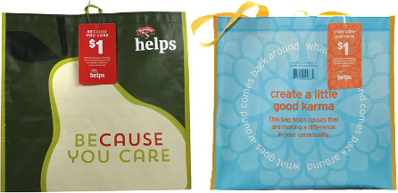 Hannaford Helps Reusable Shopping Bags